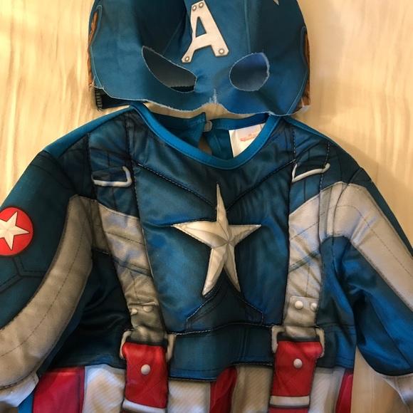 Rubie's Marvel Captain America Costume&Mask